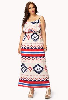 F21 - Aztec Maxi Dress