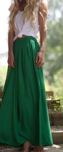 green maxi