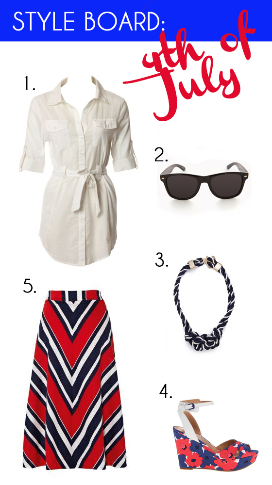 Style Board 4th of July