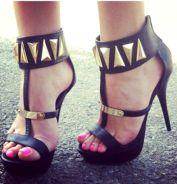 7-26 gold sandals