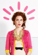 8-9 pink cardigan