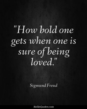 boldness of love
