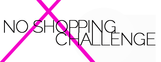 no shopping challenge