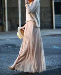 1-10 pleated skirt