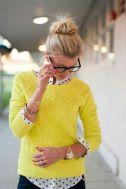 2-21 yellow sweater