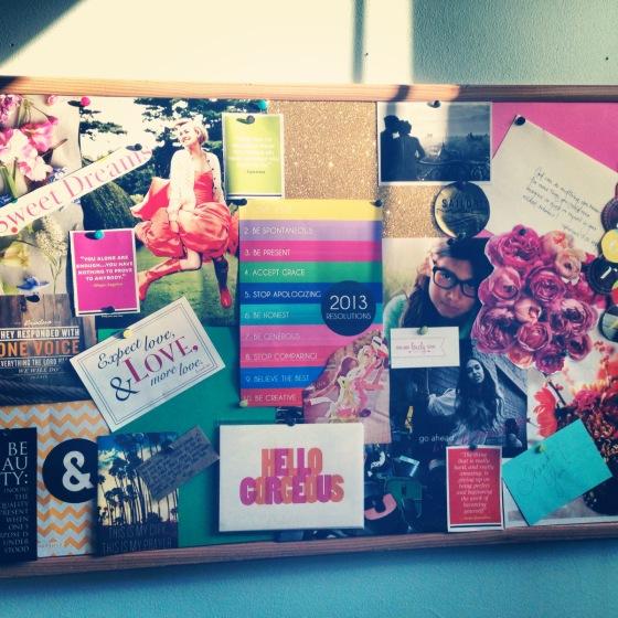2013 Inspiration Board
