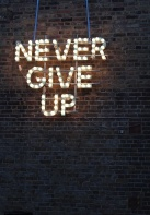 8-1 never give up
