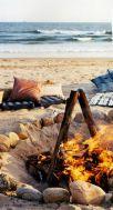 10-3 beach bonfire