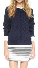 10-3 striped skirt