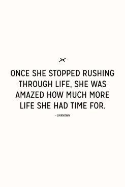 9-5 stop rushing