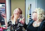 Wine and Laughing