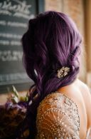 11-7 purple hair